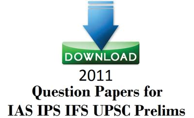 UPSC IAS Mains Previous Year Question Papers: PDF Download